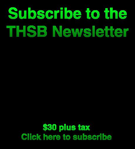 THSB Newsletter Ad