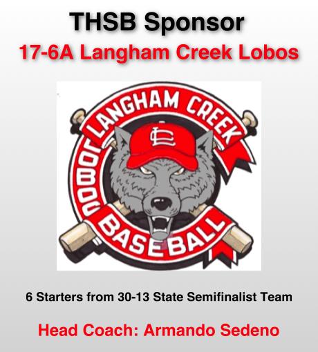 Langham Creek Team Sponsor Slide