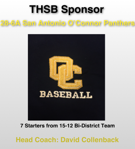 O'Connor Team Sponsor Slide