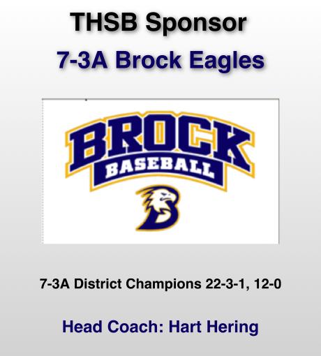 Brock THSB Sponsor