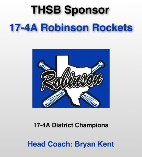 Robinson THSB Sponsor