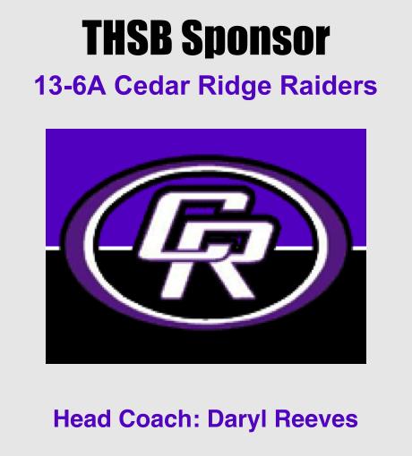 THSB Sponsor Slide Cedar Ridge