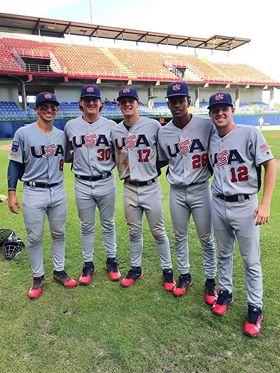 USA Baseball 5 Texas Guys
