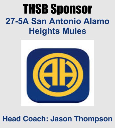 THSB Sponsor Alamo Heights