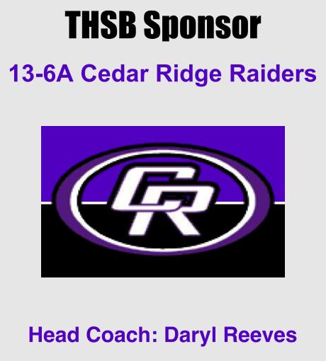 THSB Sponsor Cedar Ridge