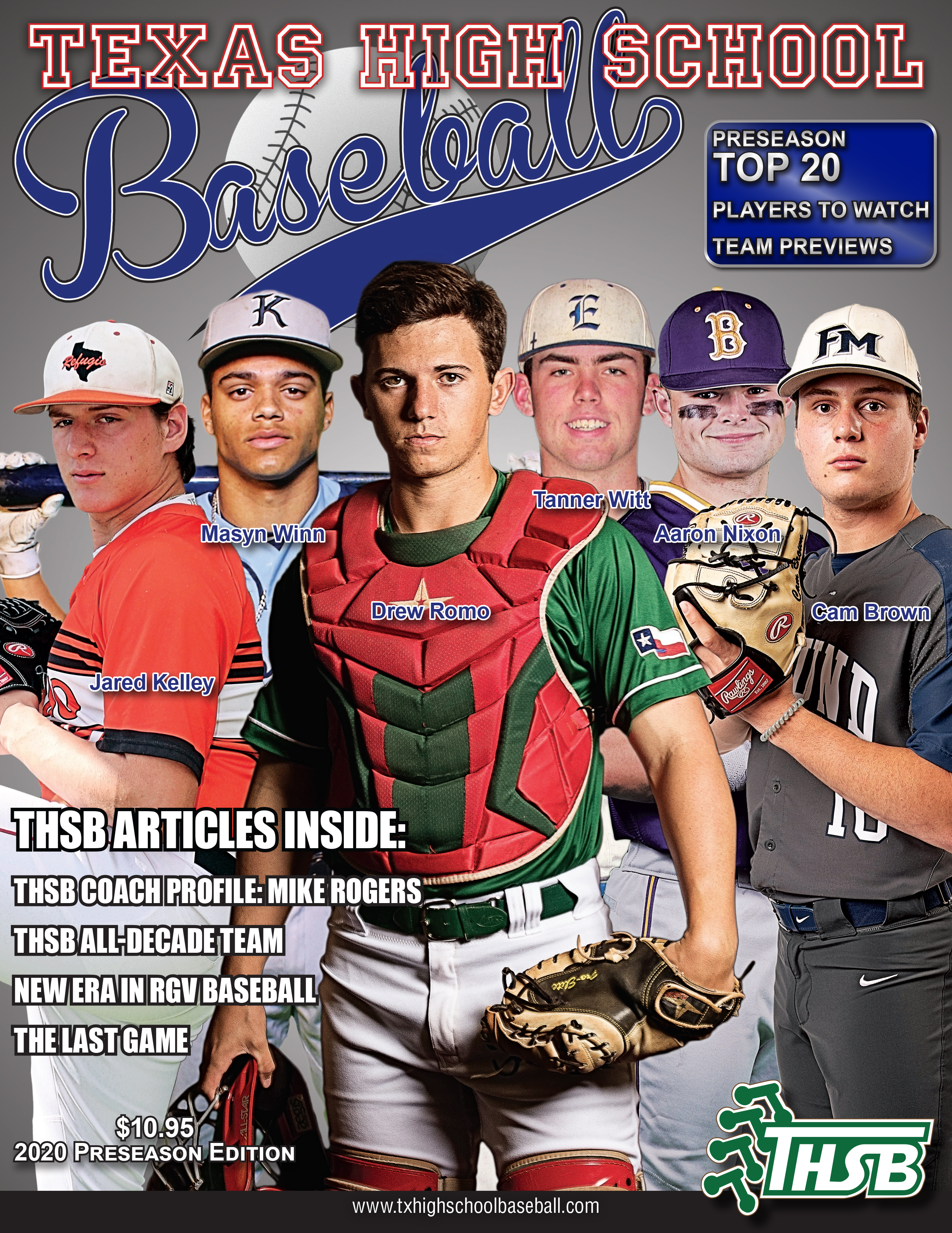 2020 THSB Magazine Front Cover