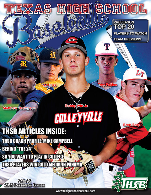 2019 THSB Magazine Front Cover