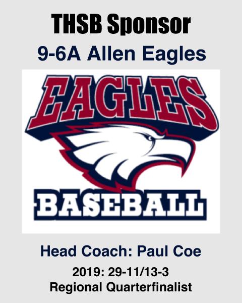 Allen Eagles THSB Sponsor