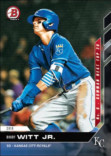 Bobby Witt Jr Baseball Card
