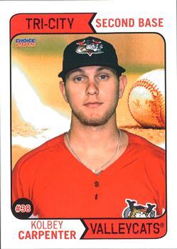 Kolbey Carpenter baseball card