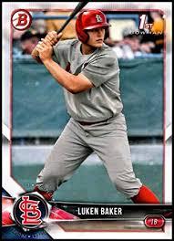 Luken Baker Baseball Card